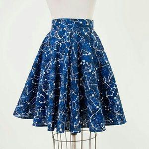 Heart of Haute Mandie Bee Stars Circle Skirt